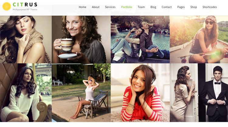 Citrus Responsive WordPress Theme