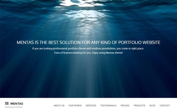 Mental Photography WordPress Themes