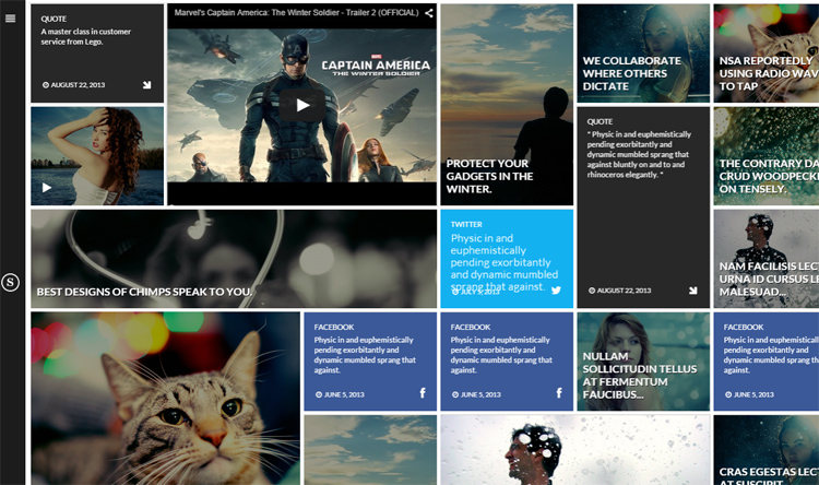 Snapture Photography ThemeForest