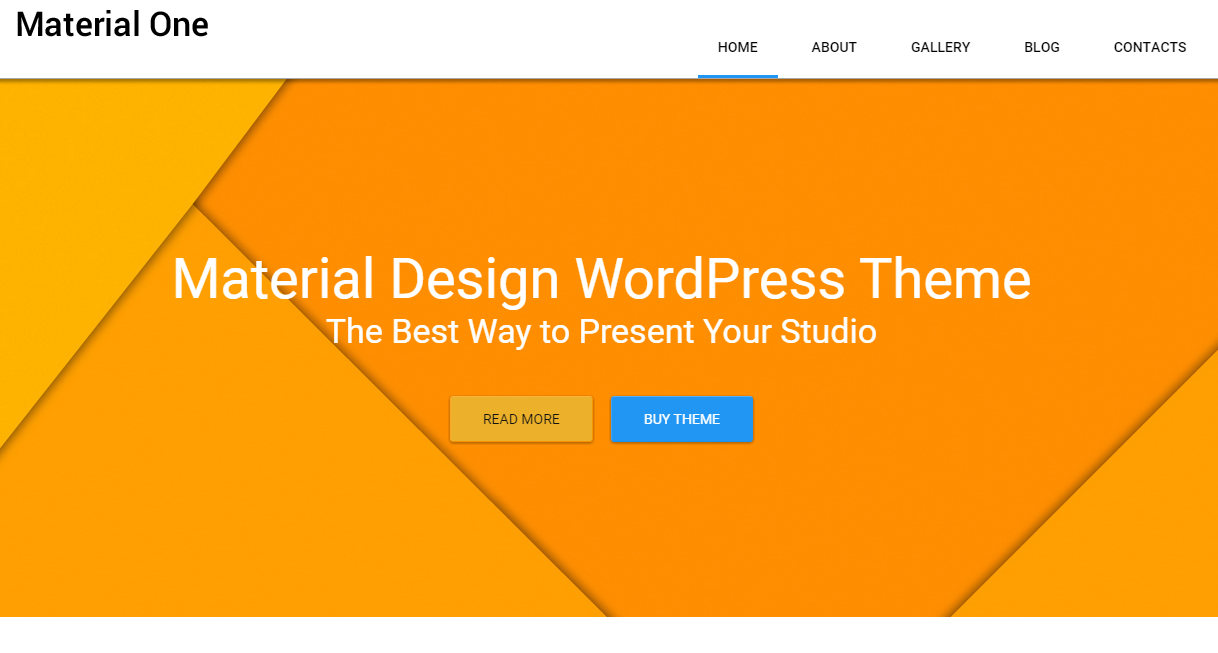 Web Design Storage WordPress Theme