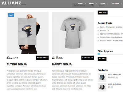 Allianz Shop ThemeForest