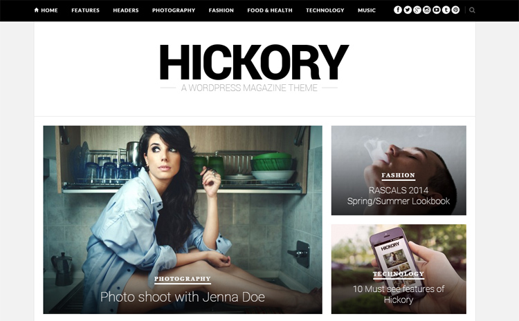 Hickory ThemeForest