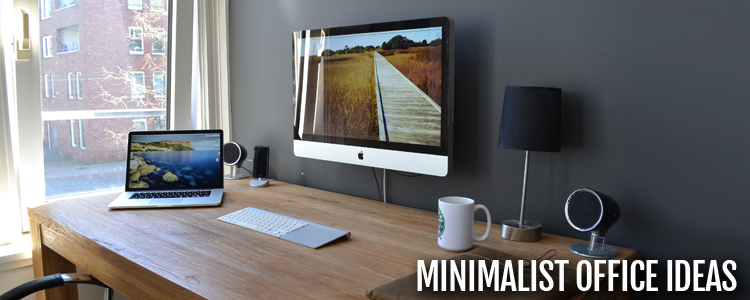 5 minimalist home office tips to improve productivity - Colors home office can enhance productivity ...