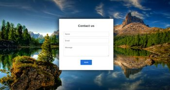 WordPress Contact Form Without Plugin